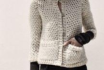 chaqueta crochet