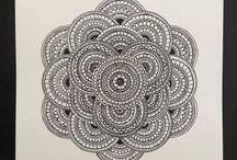 Mandalas / My hand drawn mandalas