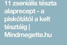 tészta recept