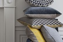 Pillows, linens and textiles