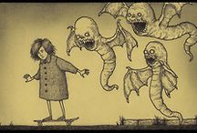 Horror Art / Horror and horrible arts from around the world