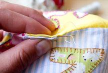 Punto escondido / En este post te explicare como hacer un punto muy cencillo y conocido por todas las costureras...