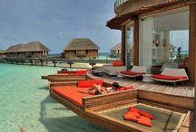 Steder, jeg vil se Maldiverne