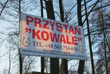 our place on earth / Our place. In Oborniki. It's Przystań Kowale. We invite you to our place.