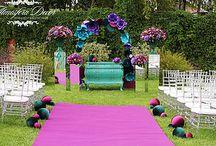 Sweet Hotel wedding by Atmosfera Decor / Wedding decoration, Moscow. http://www.atmosferadecor.com/