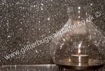 Products - Glam Range  - Glitter Wallpaper