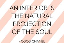 Quotes & Funny things about interior design