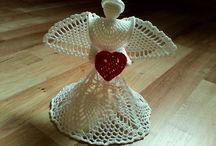 My work :-) / Moja zaľuba.hačkovanie,pletenie,koralkovanie :-)