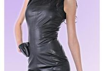 Leather clothes, vegan leather