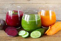 Cure détox / Stress, fatigue, pollution de l'environnement... Vous avez besoin d'une cure détox pour retrouver de l'énergie ? Découvrez des recettes d'eaux et aliments détox avec Bien et Bio.