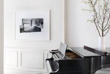 american classic piano room