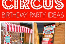 Circus & Carnival Party Ideas / Circus theme party, cake costume, food, decorations, kids, vintage, pink, diy, carnival, for girls, boys, games, birthdays, centerpieces,