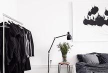 flat sypialnia