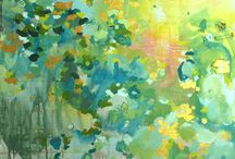 Color combo-Aqua/Yellow / by Cyndi Reilly-Rogers