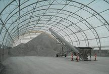Salt, Sand & De-icing / The quality and attention to detail that goes into manufacturing and installing all Accu-Steel salt storage and sand storage buildings provides unique advantages to help maximize the life of your stockpile. We provide covered storage buildings of all shapes and sizes to fit your specific business requirements.