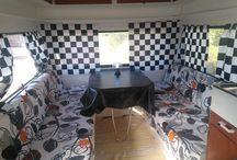 Caravan / Bought a cheep caravan to renovate. Soon it will be ready..
