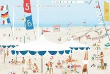 Illustrations | Seaside . bords de mer |