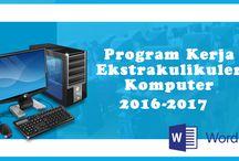 program kerja ekstrakuruler
