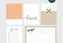 Printable Journaling Cards | Project Life Cards