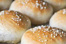 Hamburger buns / Homemade