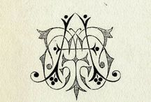 Monograms / by effie's paper stationery co.