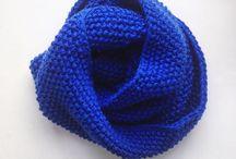 Вязание. Снуды, шарфы