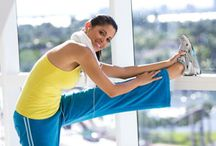 Stretch it Out / Stretching keeps you healthy.  Here are some stretches to implement in your day!