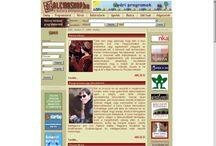 Honlapok, amik a szívemhez nőttek / Közreműködtem a honlapok létrehozásában, tartalommenedzsmentjében. Sajnos a honlapok egy része már megszűnt. Intézmény: Budapesti Művelődési Központ (www.bmknet.hu)