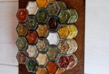 Spice Rack Ideas / by Sydney Sopher
