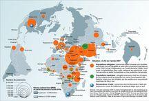Migrants et réfugiés cartographie