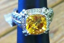 Gold  n white gold rings
