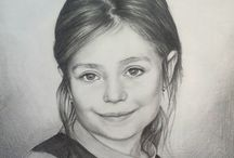 drawings / Pencil drawings of portraits and animals