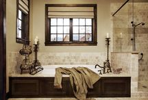 design: bathroom reno / by Loring Hammond