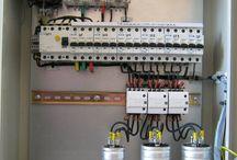 panel capasitor