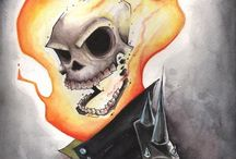 Ghost Rider and Punisher