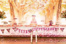 Sweet Floral Birthday / Celebrar cada año de nuestros hijos y guardar en nuestras memorias y fotos estos momentos tan especiales también ameritan una hermosa decoración. Este es el caso de Luciana, para quien diseñamos una sencilla pero mágica decoración inspirada en su personaje y colores favoritos; Mini Mouse , arboles cerezos y colores rosas.
