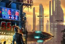 Sci-Fi Ideas / Sci-Fi images I use when I write my stories. I use them for inspiration to give me the right atmosphere and structure.