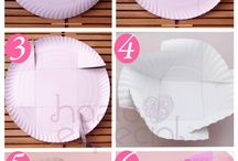 Party / Paper plate party favors