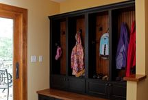 Home - Mudrooms/locker area