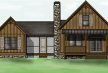 Little cabin in the woods / Cool small house floor plans