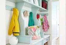 operation: mudroom / by Kelly Eddy