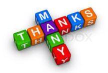 Work Encouragement/Thank Yous