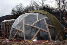 Geodesic dome (Гео-дом)