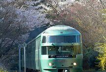 Japonia Pociąg Natura