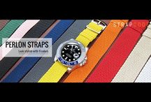 MiLTAT PERLON Straps Watches Show + Installation