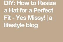 Resize a hat