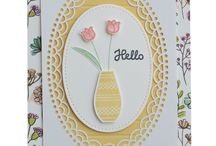 Stampin up Vasenset