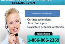 LiveMail 1-866-866-2369 Tech Support Phone Number