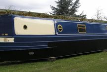 Narrow boat design