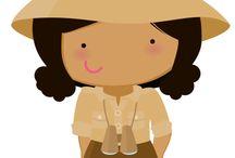 Safari menina